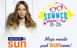 Multiactiv cosmetics at Summer Woman`s Fest